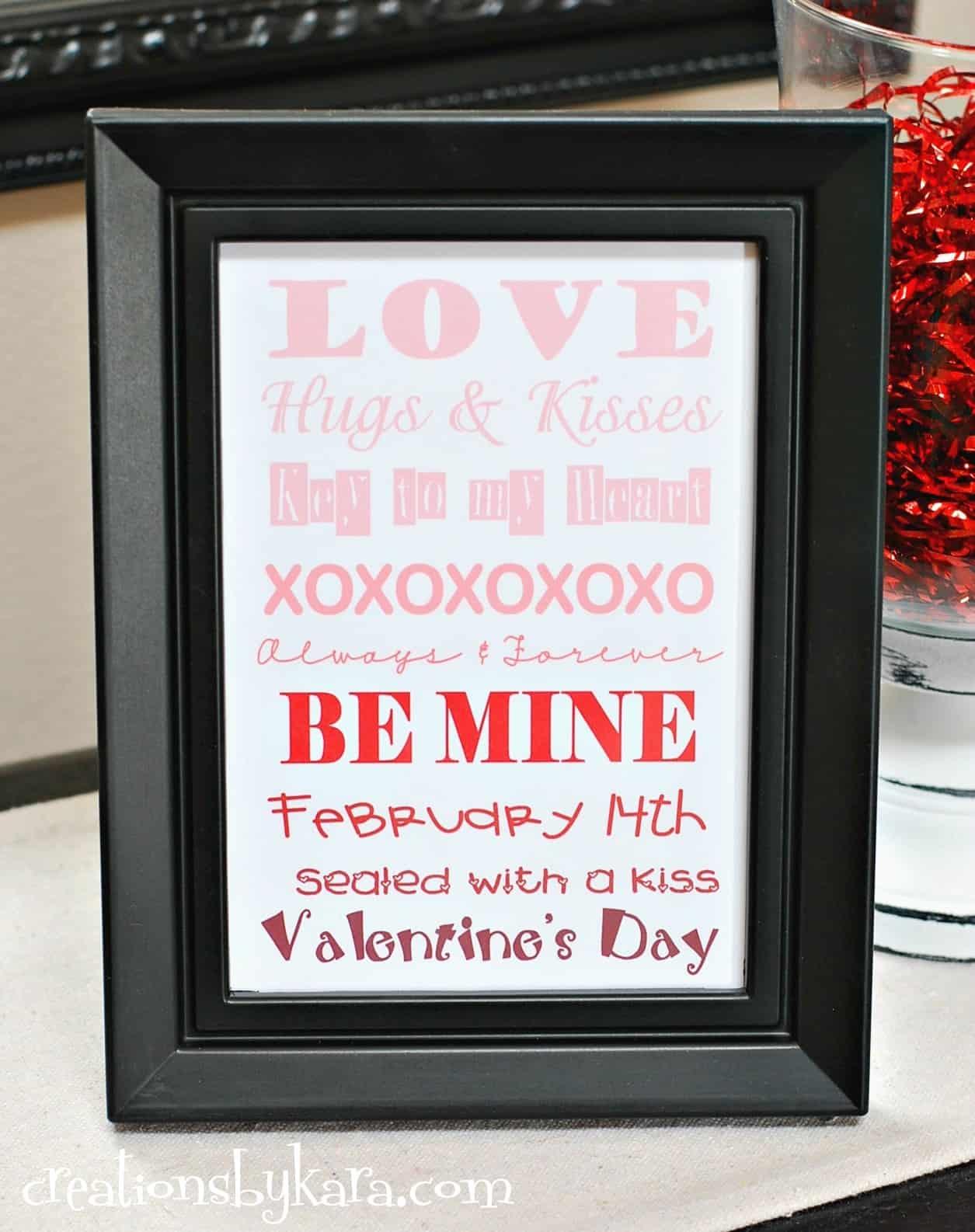 Valentine S Day Ombre Art