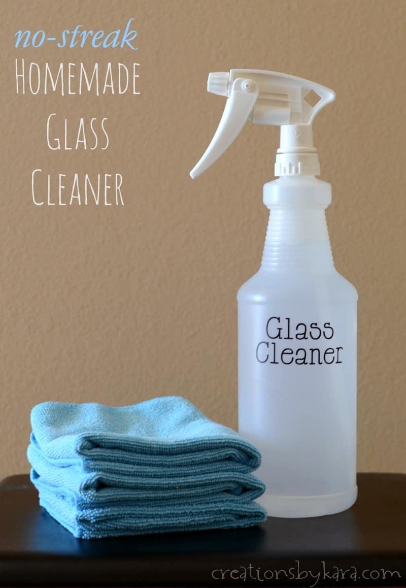 No Streak Homemade Window Cleaner Creations By Kara