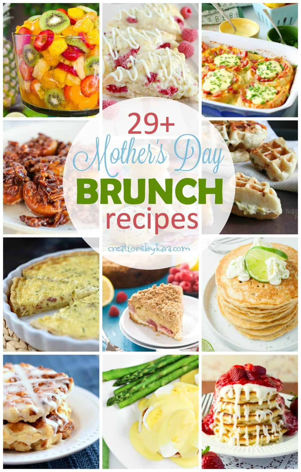 Mothers Day Brunch Recipes Creations By Kara