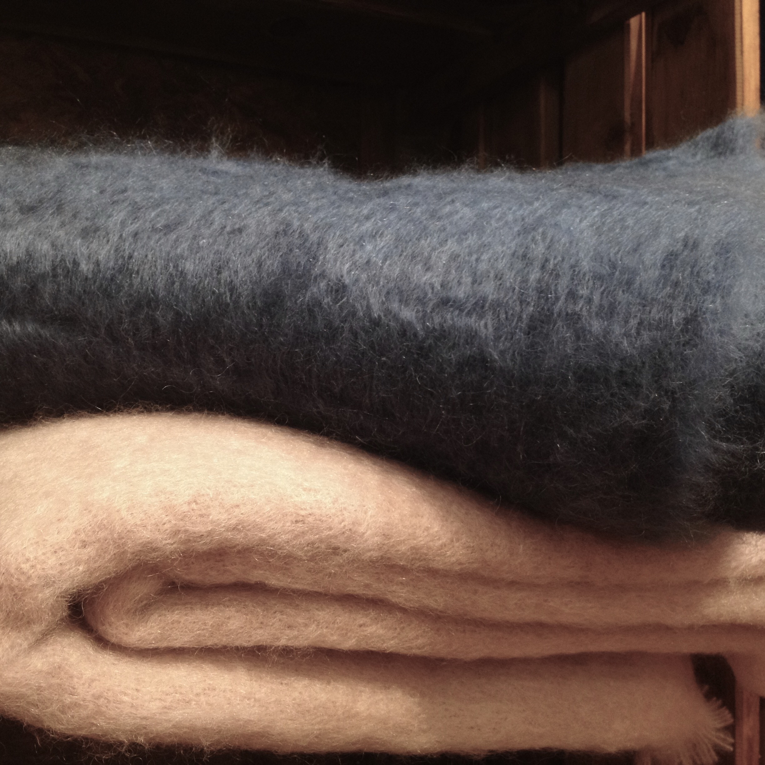 Couvertures Mohair