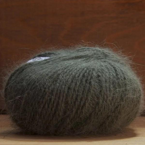 Pelote angora «Douceur» Kiwi