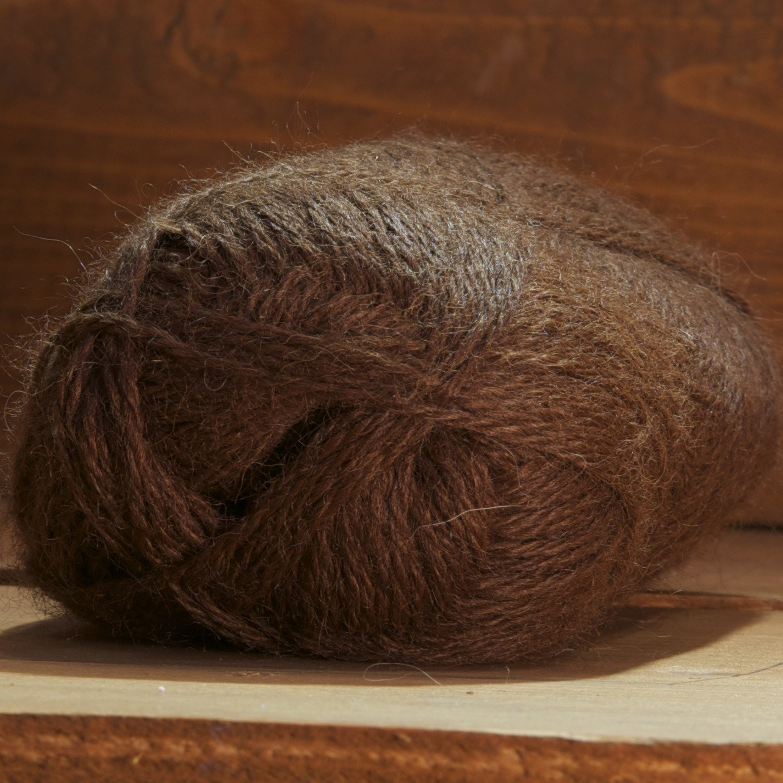pelote alpaga marron
