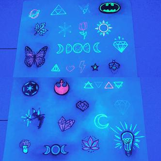 uv tattoo black light