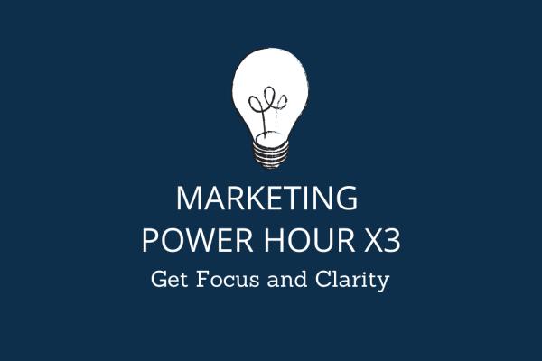 Marketing Power Hours x 3 - Creationz Marketing, Nottingham, Nottinghamshire