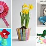 15 idei deosebite de cadouri si felicitari pentru mama pe care le pot realiza copiii de 8 Martie