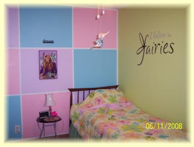 Tinkerbell Any Custom Name Wall Sticker Vinyl Quote Home Decoration Art Decals Bedroom
