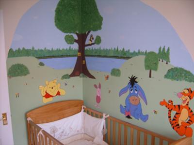 Winnie the Pooh Hidden Forest Nursery