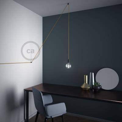 Swag Hook Black V Ceiling Or Wall For Any Fabric Electric Cable