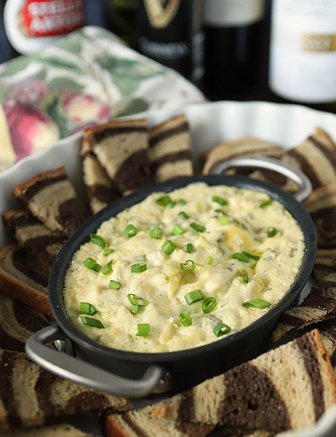 Wynkoop Brewing Artichoke and Parmesan Cheese Dip