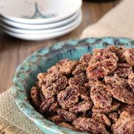 Candied Cinnamon and Sugar Pecans