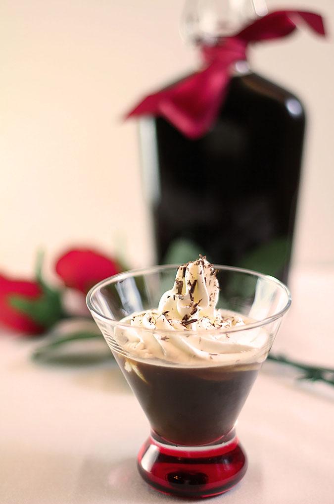Homemade Chocolate Liqueur