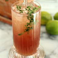 The El Diablo Cocktail with Pisco & Ginger Beer