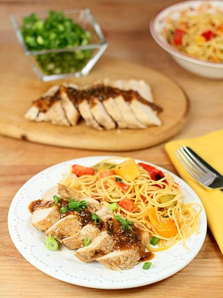Scallion & Ginger Spiced Chicken