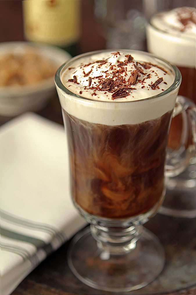 A Classic Irish Coffee | Creative Culinary