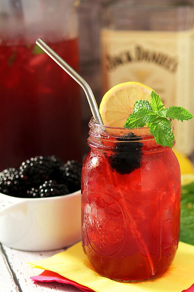 Jack Honey Sweetened Blackberry Tea