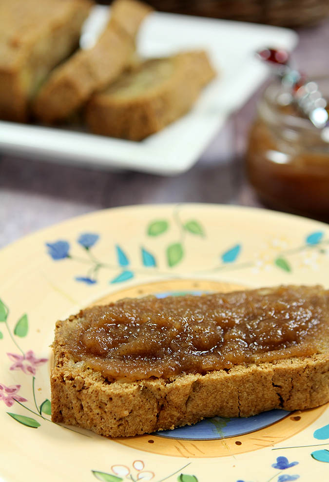 Maple Roasted Apple Butter with Bourbon