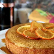 Isabelle's Orange Cake from the book 'Orange Appeal; Savory and Sweet'