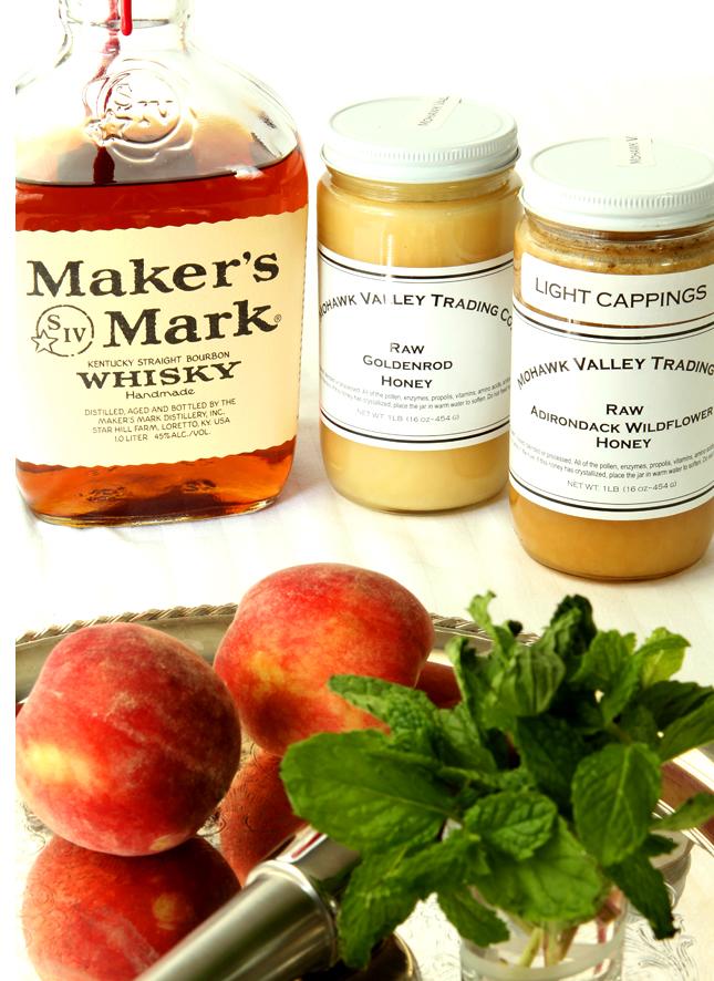 Honey Peach Mint Julep   Creative-Culinary.com