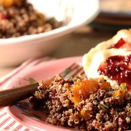 Quinoa Salad with Oranges, Pecans and Cranberries