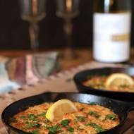Shrimp Scampi and Parmesan Cheese Dip