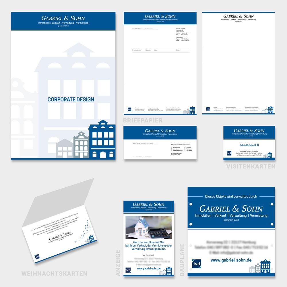Corporate-Design | Gabriel & Sohn