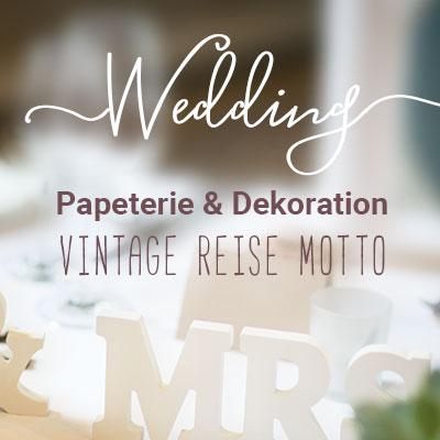 Hochzeits Papeterie & Dekorationsideen