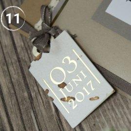 Hochzeitspapeterie selber machen | Gastgeschenk, Einladungskarten, Namensschilder, Dankeskarten | Reise Motto Hochzeit