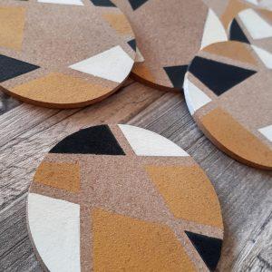DIY | Korkuntersetzer selber bemalen | Creative-Material