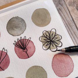 DIY | Grußkarten selber bemalen, basteln und verschenken