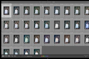Lightroom Grid View with Virtual Copies created with Excessor plug-in