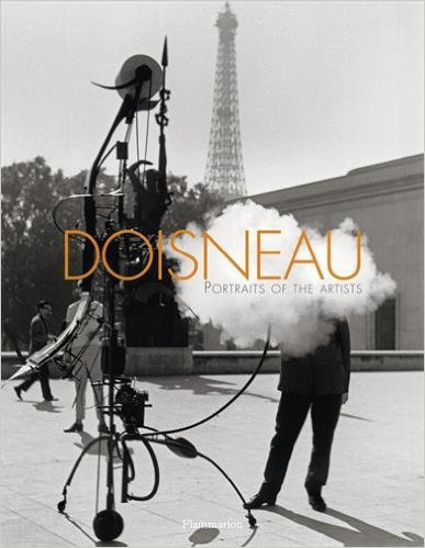 Cover of Robert Doisneau book Portraits of the Artists
