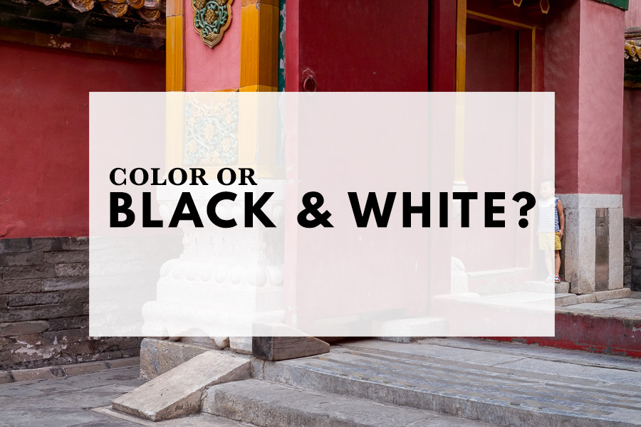 Color or black & white?