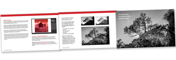 The Lightroom Landscape inside pages