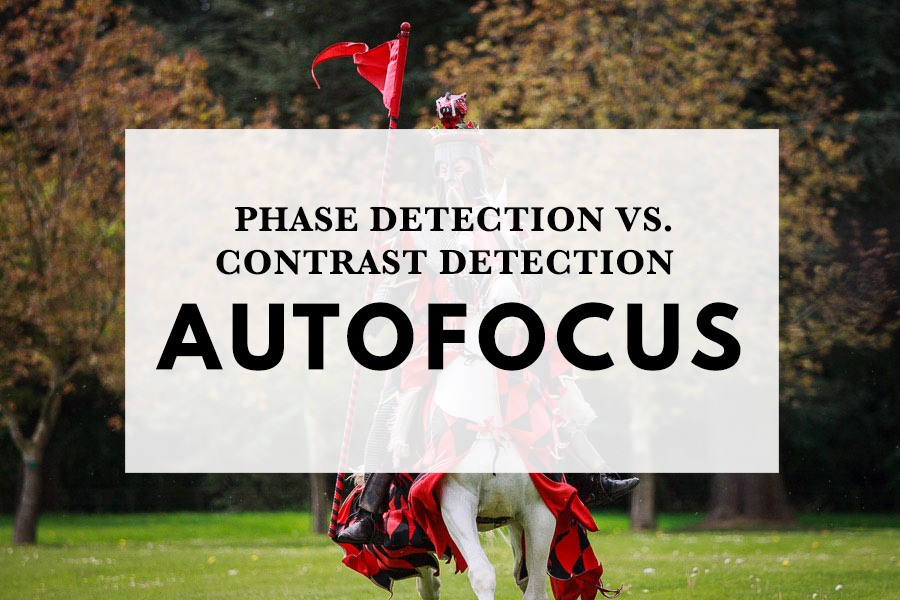 Phase detection vs. contrast detection autofocus
