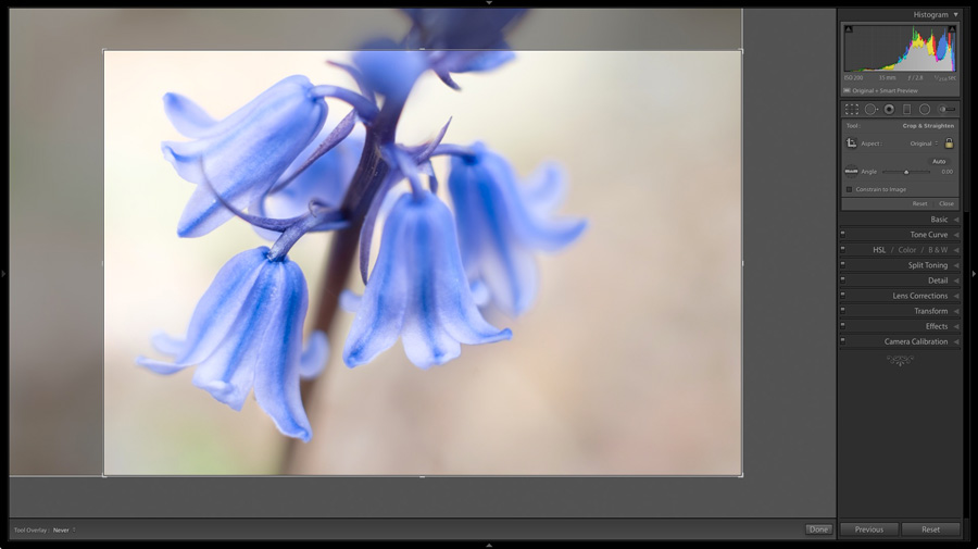 Lightroom shortcuts