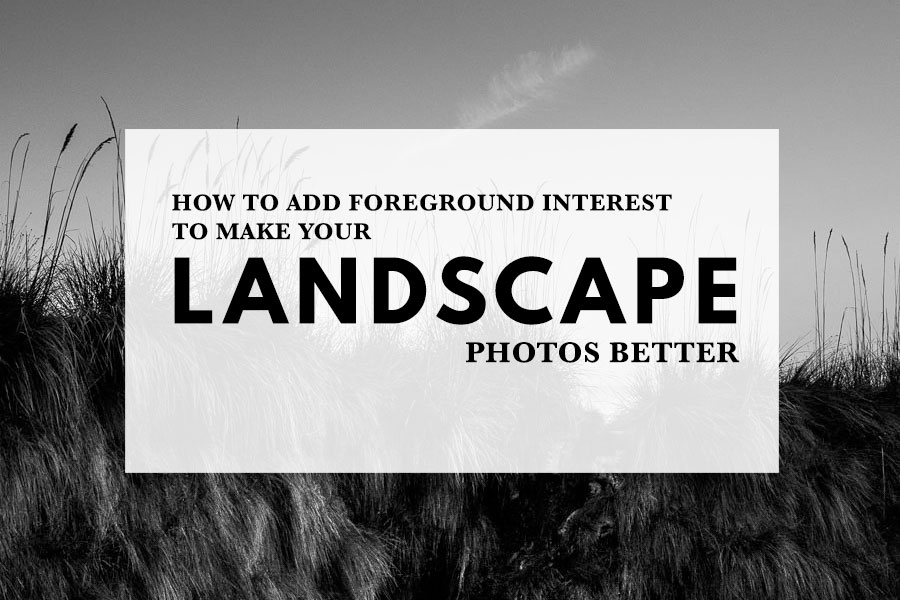 How to Add Foreground Interest to Make Your Landscape Photos Better