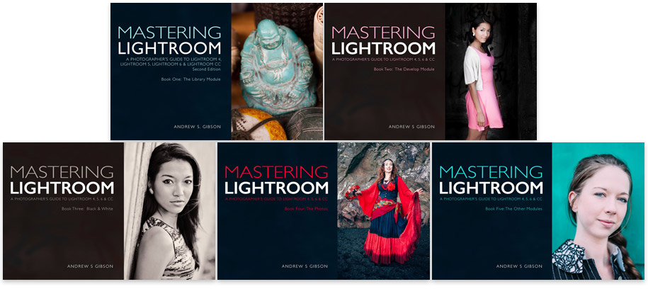 Mastering Lightroom books