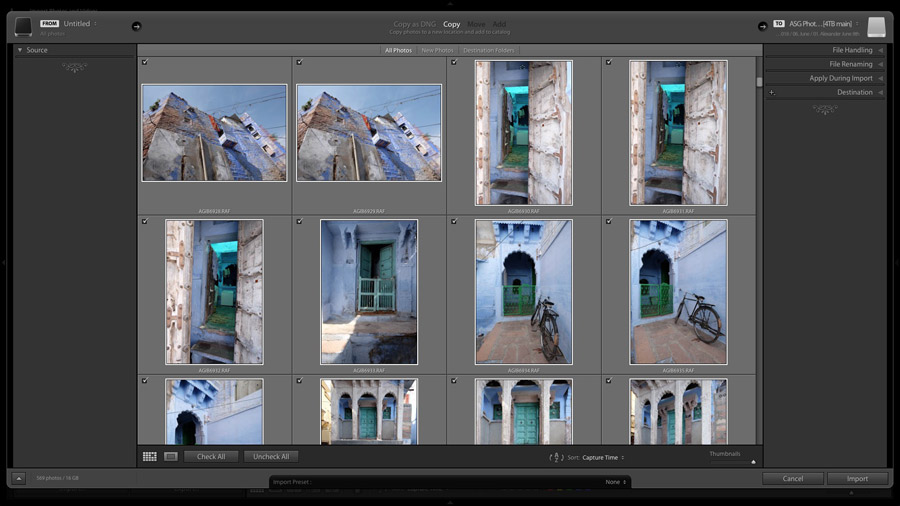 Photo Mechanic Lightroom workflow