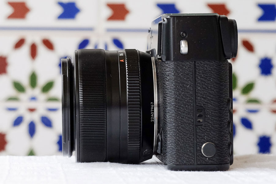 Fujifilm X-Pro 1 with 35mm lens