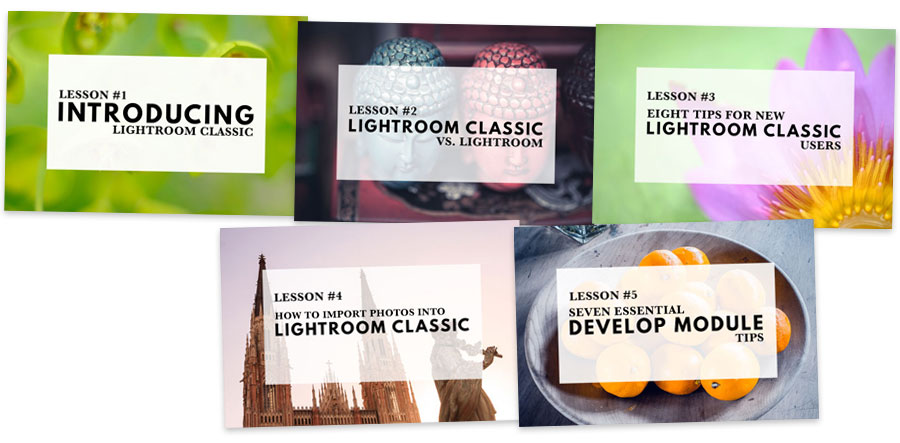 Mastering Lightroom Classic free email course