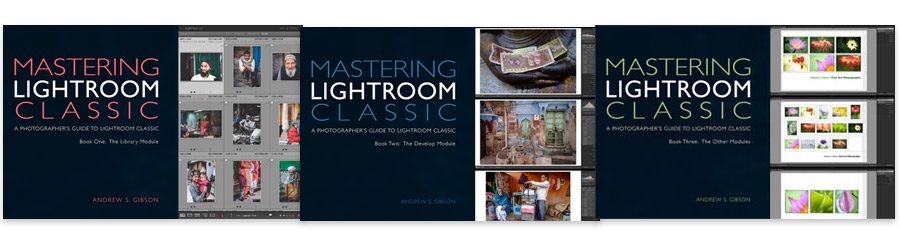 The Mastering Lightroom Classic ebook bundle