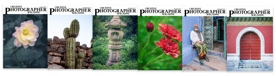 Creative Photographer Magazine covers