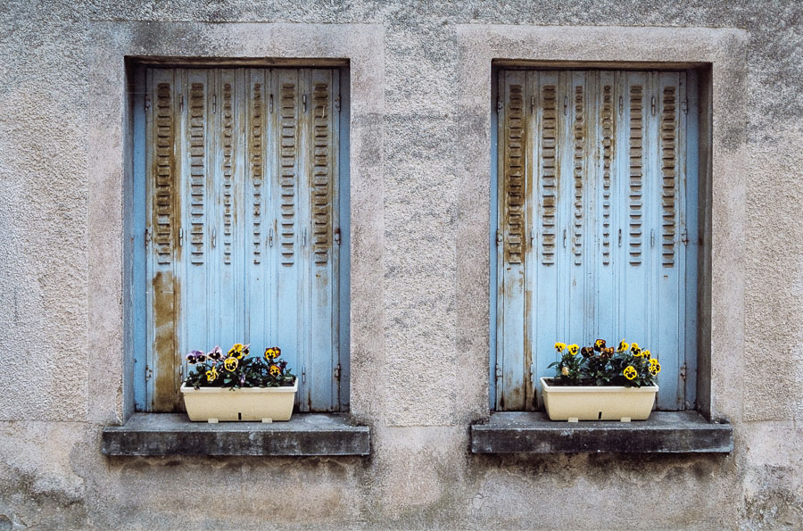 Digitized slide French windows