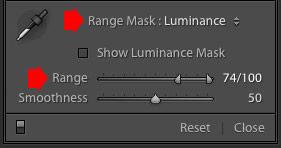 Range Masking in Lightroom Classic