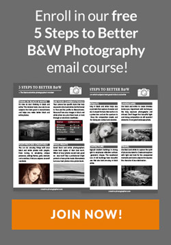 Free black and white photography email course