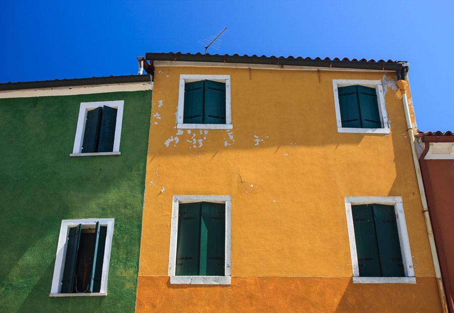 Interesting photo of Burano