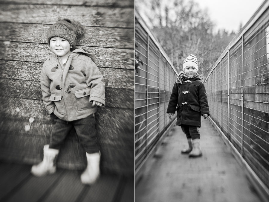 Portraits  made with Lensbaby lens