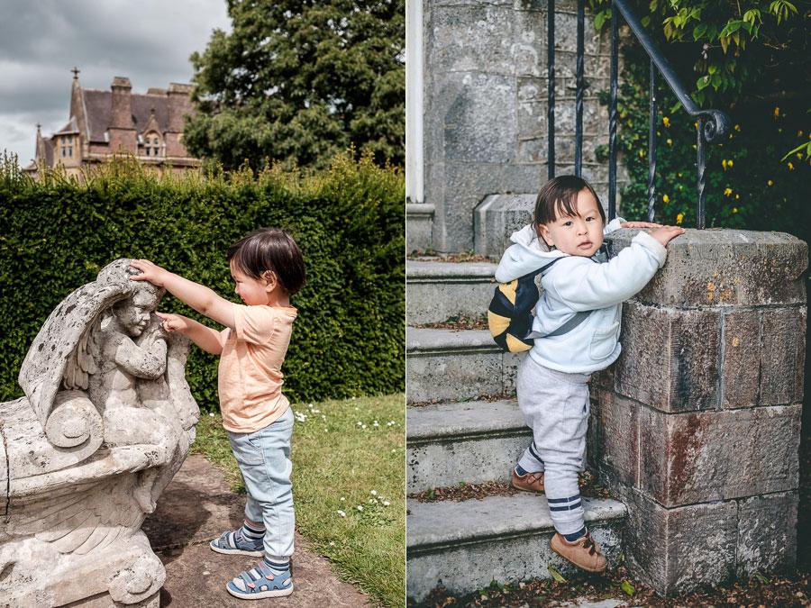 Photograph children outdoors