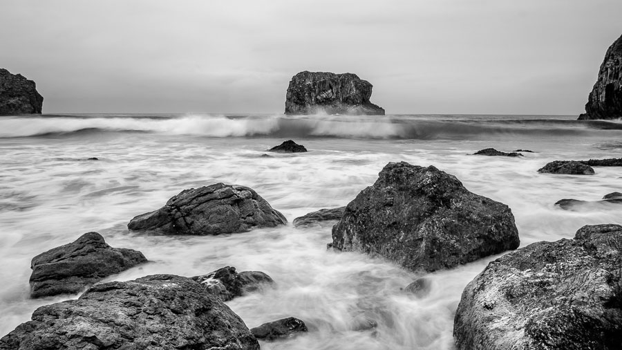 Texture in black and white photography