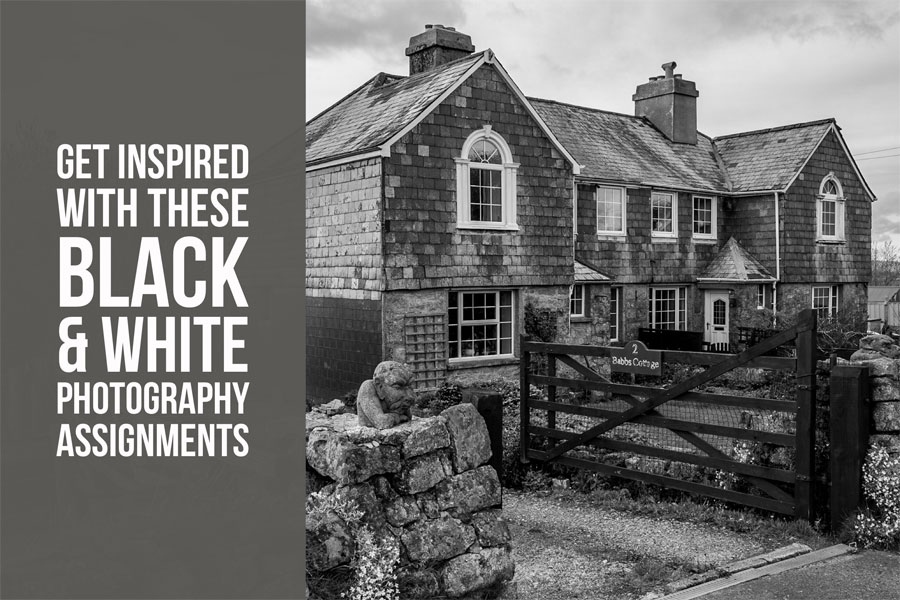Get Inspired With These Black & White Photography Assignments